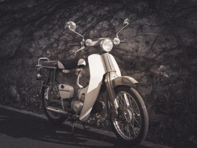 バイク。スーパーカブ