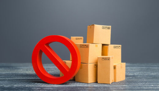 要注意!eBayやAmazon輸出の出品禁止・規制商品まとめ